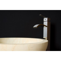 Vasque 40 cm marbre pour salle de bains