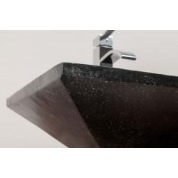 Vasque béton rectangulaire