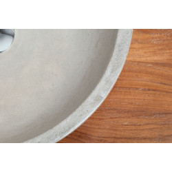 Vasque ronde 2 robinets