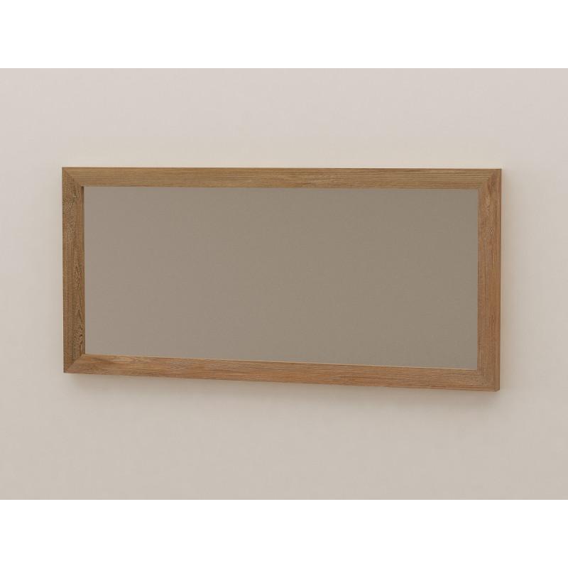 Miroir en teck salle de bain 140 cm selon design kayumanis - Miroir salle de bain 140 cm ...