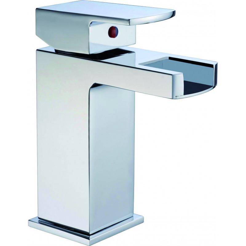 Robinet cascade bas pour vasques encastr es for Salle de bain 13m2