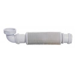 Siphon court plastique
