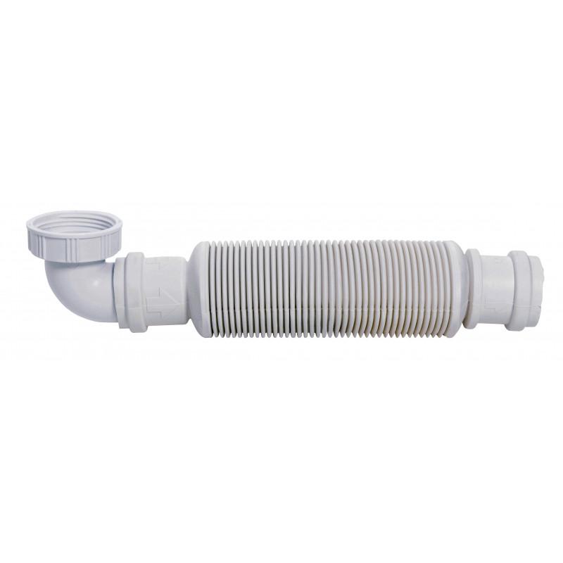 Siphon court en plastique senzo design kayumanis for Siphon salle de bain pau