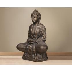 Statue de Bouddha cuivrée