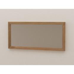 Miroir teck, 100cm