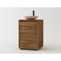 meuble salle de bains groggy simple