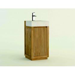 Meuble teck salle de bain SALEM - 80cm