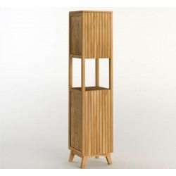 Colonne teck salle de bain RITAN - 185cm
