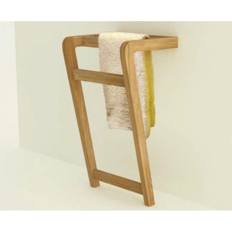 Porte serviette en teck BINTUNI - 80cm