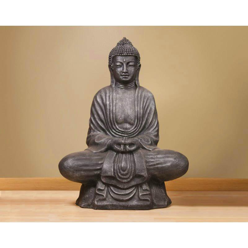 statue de bouddha argent e pour l 39 int rieur et l 39 ext rieur. Black Bedroom Furniture Sets. Home Design Ideas