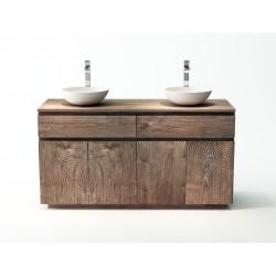 Meuble teck salle de bain - Sawu - 140cm