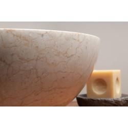 Vasque marbre ronde