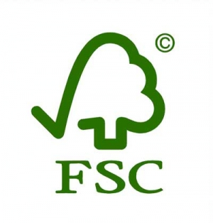 logo FSC label teck meubles salle de bain Kayumanis
