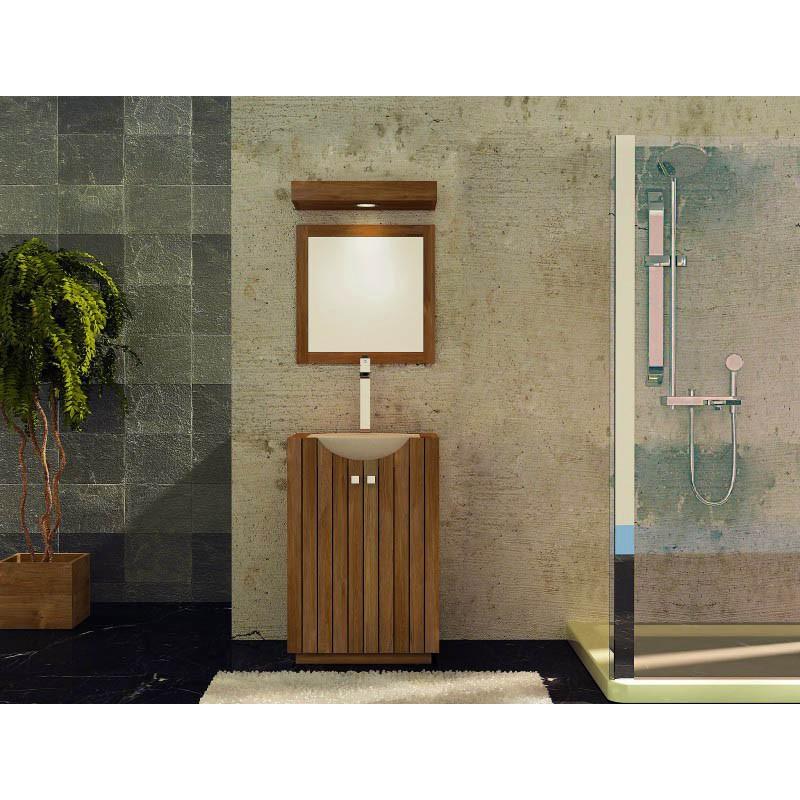 salle de bains meuble simple vasque design kayumanis