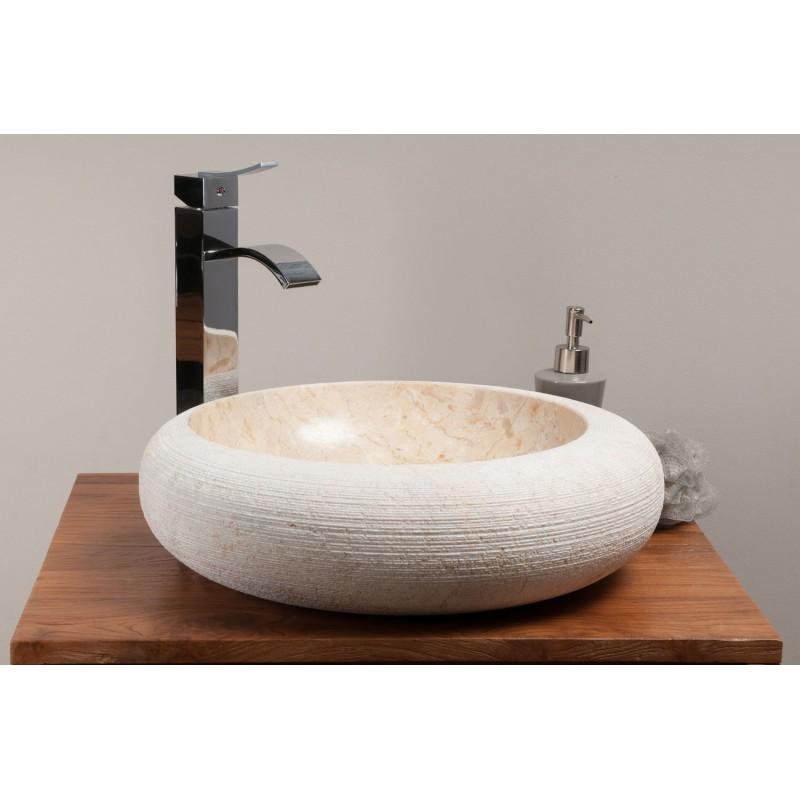 vasque en béton ciré kayumanis